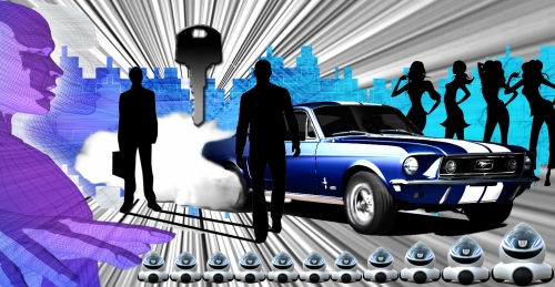 'Stang Struck - automotive sci-fi