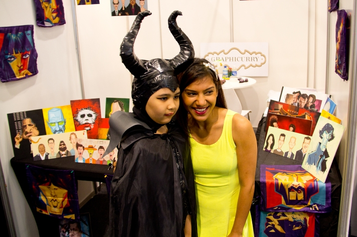 Maleficent and at Middle East Film & Comic Con