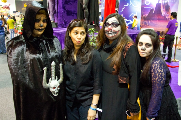 Horror Cosplay at Middle East Film & Comic Con