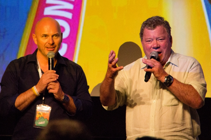 William Shatner at Middle East Film & Comic Con