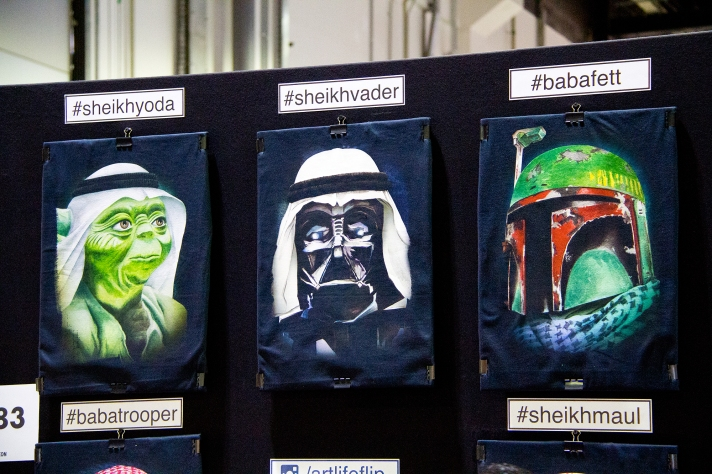 Art at Middle East Film & Comic Con
