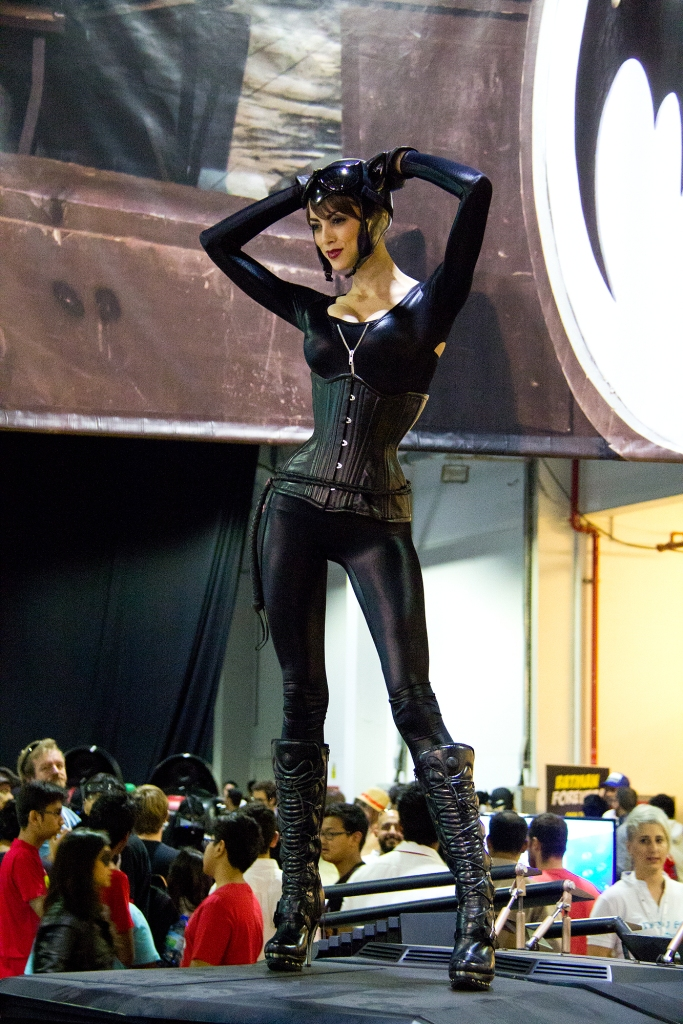 Cosplay Cat Woman Middle East Film & Comic Con