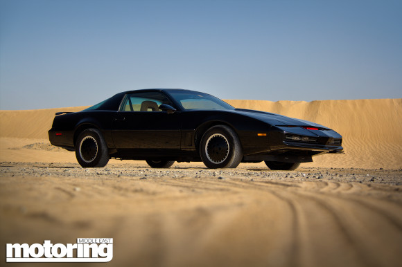 KITT of Knight Rider in Dubai