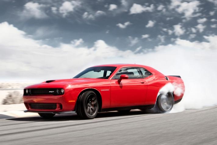 Dodge Challenger Hellcat burnout
