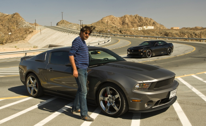 Driving American cars