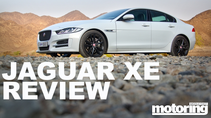 Jaguar XE YouTube review