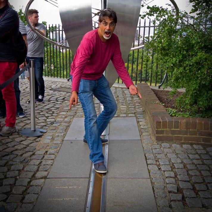 Greenwich mean line