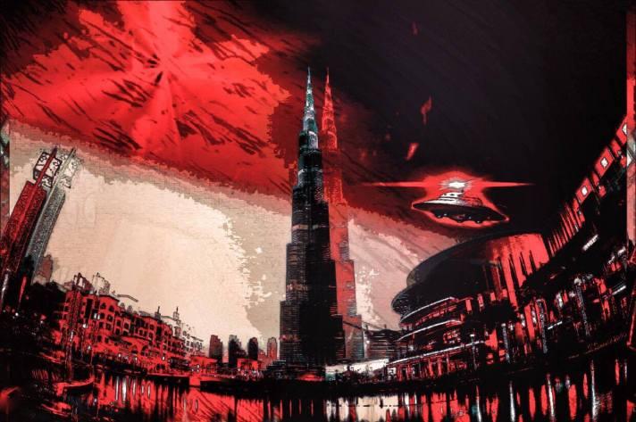 Alien Invasion: Target Burj!