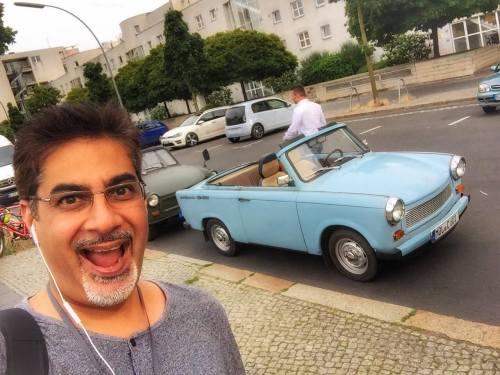 Berlin by Trabant