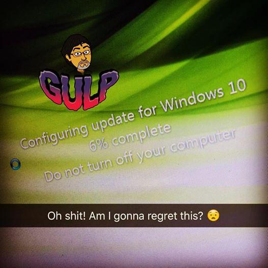 Updating to Windows 10