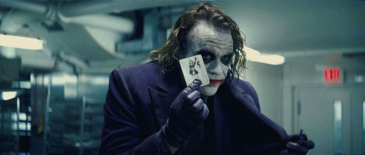 The Joker Heath Ledger