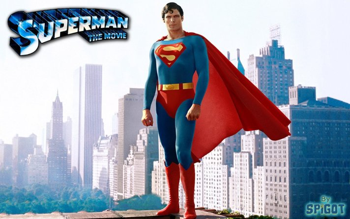 Superman the Movie Christopher Reeve