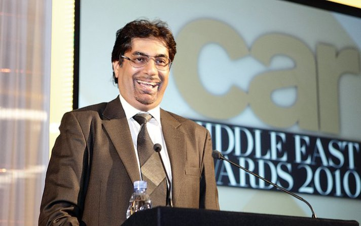 Car Middle East - presenting awards
