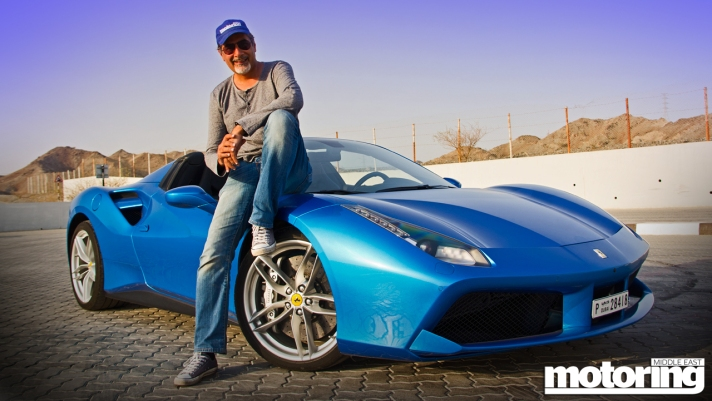 Me with Ferrari 488 Spider