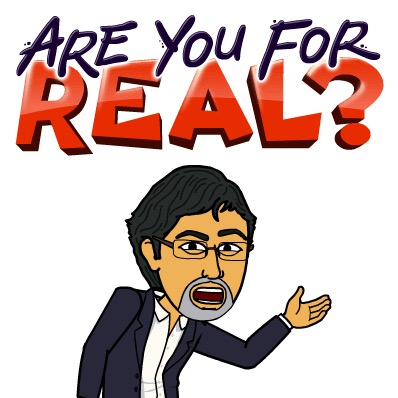 Are you for real? Bitstrips Bitmoji