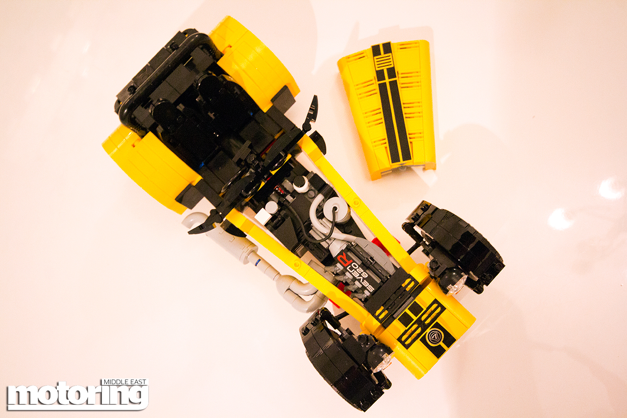 We build Lego Caterham 7 620R
