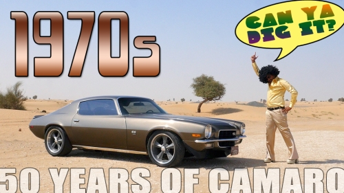 50 years of camaro - 1970s