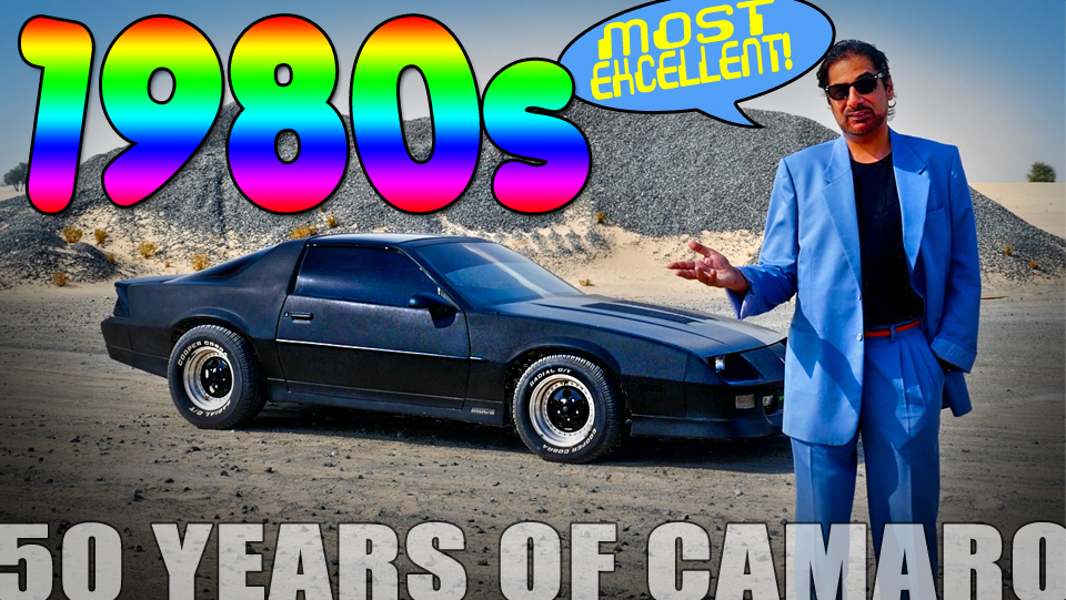50 Years of Camaro - 1980s
