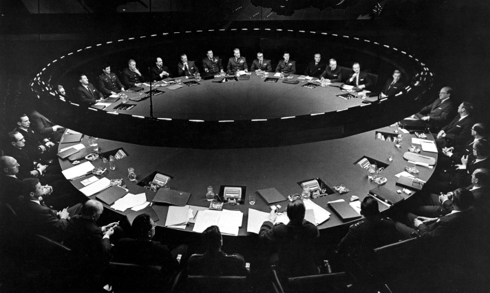 Pre-emptive Strike (The War Room, Dr Strangelove)