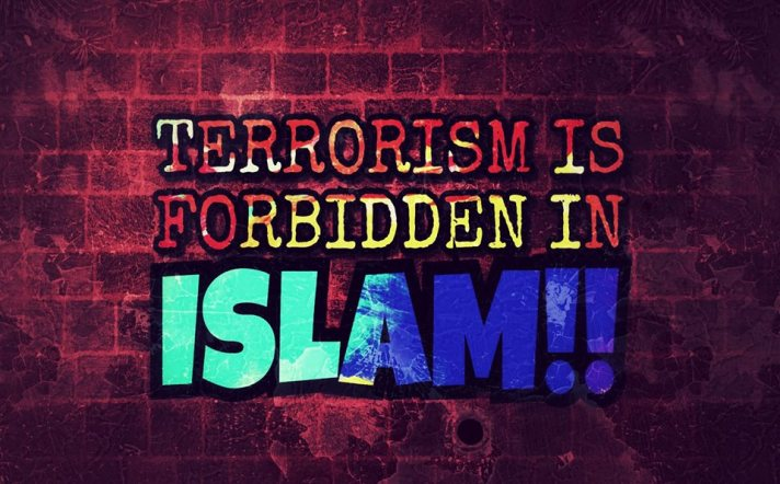Terrorism is forbidden in Islam