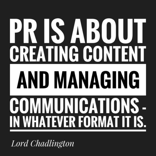 Press and PR
