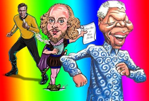 Kirk, Shakespeare and Mandela