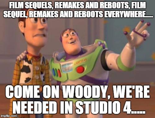 Reboots remakes sequels