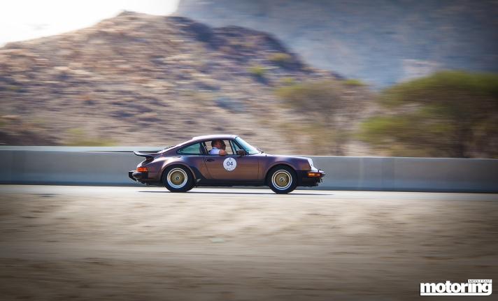 Classic Porsche 911 on Chopard rally in Dubai