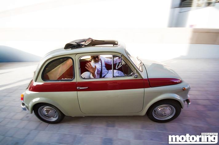 Classic Fiat 500 in Dubai