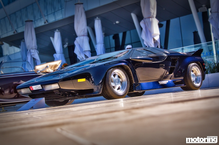 Vector W8 at Gulf Concours