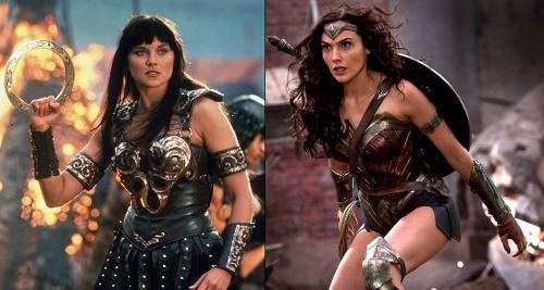Xena Warrior Princess and Wonder Woman