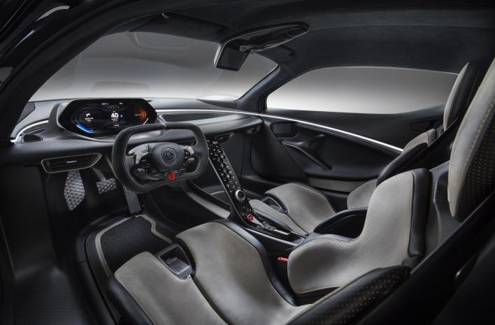 Lotus Evija Interior 2