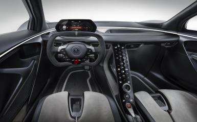 Lotus Evija Interior 3